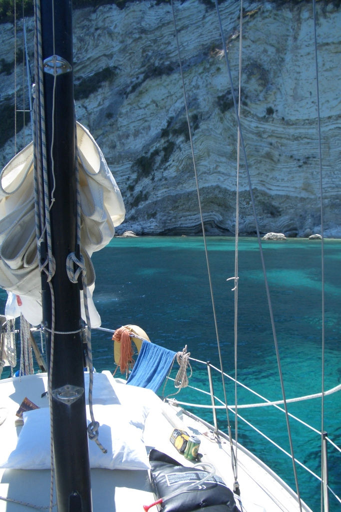 2006: Living the dream. Sailing in the Greek islands.