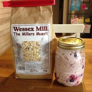 Summer porridge muesli